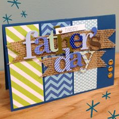 Happy Fathers Day Cards 2018 – Greeting Cards for Fathers Day Fathers Day Cards Handmade, Happy Fathers Day Cards, Mothers Day Cards, Diy Father's Day Cards, Father's Day Diy, Cricut Cards, Masculine Cards, Creative Cards, Scrapbook Cards