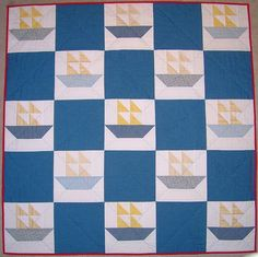 Another sailboat quilt