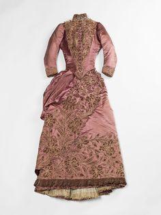 robe de jour Soinard, vers 1887