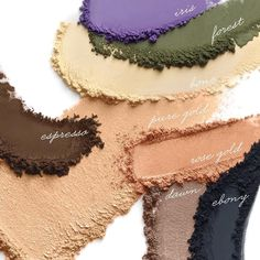 We've swatched our new In The Blink Of A Smoky Eye Kit! Which shade is your favorite?