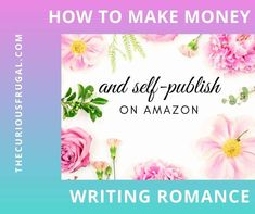 Have you ever dreamed about being a published author and getting paid to write? Writing romance is one of the easiest ways to make money online as a writer. This shows all about how to make money writing ebooks of romance novels and selling on Amazon. Tips on how to self publish on Amazon and how you can make thousands a month writing romance. #sellingonamazon #makemoneywriting #selfpublishing Writing Romance, Romance Novels, Make Money Writing, Writing Tips, Where To Find Jobs, Writing Ebooks, Make Easy Money, How To Make, Writing Motivation