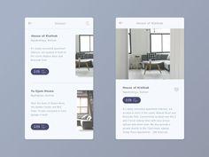 Search Result designed by Anggit Yuniar Pradito. Mobile Web Design, App Ui Design, Flat Design, Design Design, Interface Web, User Interface Design, Design Thinking, Hotel App, Magazine Ideas