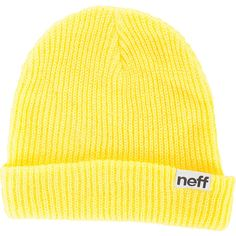 Neff Fold Beanie ($16) ❤ liked on Polyvore featuring accessories, hats, neff beanie, neff, neff hats et beanie hats