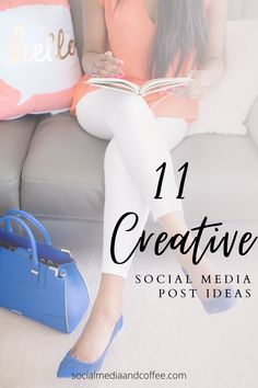 Do you need to shake it up and have some fresh ideas for your business's social media page? Here are 11 creative social media post ideas! Social media marketing | online business | Facebook marketing | Instagram marketing | Twitter | entrepreneur | small business marketing | blog | blogging | business tips | marketing ideas | social media tips | #socialmedia #blog #Blogging #onlinebusiness #marketing #Facebook #Instagram #Twitter #smallbusiness #marketingideas #smm #entrepreneur Marketing Ideas, Business Marketing, Content Marketing, Business Tips, Social Media Marketing, Online Business, Instagram Tips, Facebook Instagram, Facebook Marketing
