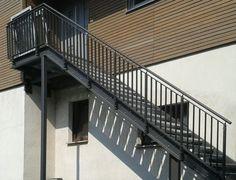 Außentreppe Stahl, Geländer Aussen, Draußen Nur Kännchen, Produkte,  Bannister, Terrasse