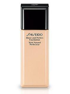 Shiseido Sheer and Perfect Foundation/1 oz. - Natural Light Ochre