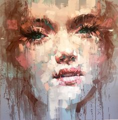 Jimmy Law is a self-taught artist and painter of expressive portraits and expressive nudes and resides in Cape Town, South Africa. Jimmy Law, Famous Contemporary Artists, A Level Art Sketchbook, Abstract Portrait, Portraits, Portrait Paintings, Face Paintings, Illustrations, Belle Photo
