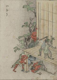 Yanari - Little demons that produce the creaking sounds heard in old house