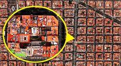 颠覆你的世界观:上帝视角从太空看地球这些难以置信的卫星照片展现了航天员眼中的人造世界。艺术家Benjamin Grant使用谷歌地图来寻找惊艳呈现人类文明的卫星照片。向四周扩张的大都市和巨型水库有时需要放大才能看清。东京工业区的街道就像是电脑的内存板,只有使用放大镜才能看到一栋栋单独的建筑。。。
