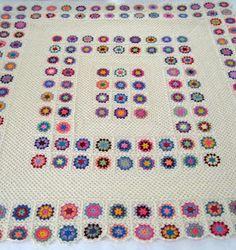 Crochet Inspiration ~ Granny Square Arrangement