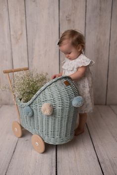 The sweetest dolls pram and the perfect colour for some beautiful sunny Spring day play! Adorable photo thanks for shar. Mint Rooms, Android Ui, Pixel 4, Dolls Prams, Spring Day, Homescreen, Bassinet, Iphone Wallpaper, Baby Kids
