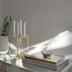Diy Interior, Candelabra, Minimalist Design, Sweden, Candles, Traditional, Instagram Posts, Minimal Design, Candlesticks