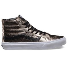 0ff2f05710 Vans Hi slim Metallic leather
