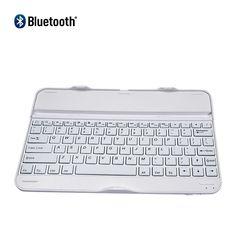Wireless Bluetooth Keyboard for Samsung Galaxy Tab 4 10.1 Tablet  White