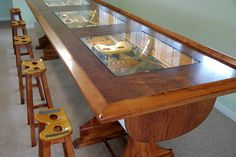 Rowing Boat Bar by CustomFurnCreations on Etsy, $2000.00
