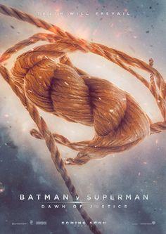 Batman v. Superman; Wonder Woman's Lasso of Truth.