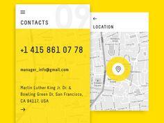 Yellow App Contacts by Yarik Zinkof