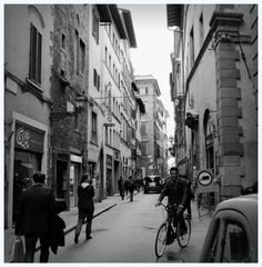 Firenze in black & white
