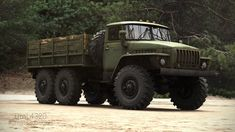 Soviet Army, Game Engine, Eastern Europe, Military Vehicles, Offroad, 4x4, Monster Trucks, Engineering, Bucket