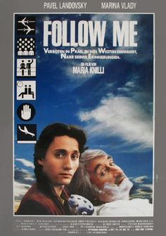"""Follow Me"" (1989) Directed by Maria Knilli West Germany 🇩🇪 #52FilmsByWomen Agfacolor"