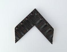 Beautiful black textured frame for custom framing in Orland Park