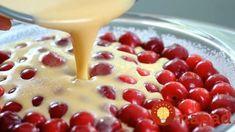 Stačí len zmiešať a naliať na plech: Francúzsky čerešňový koláč!