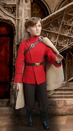 A Durmstrang student -  from Harry Potter and Goblet of Fire. Doll is rewigged Tonner's Draco Malfoy