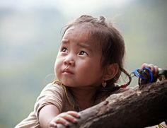Little girl from Sapa, Vietnam