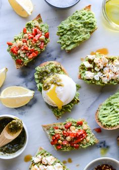 Avocado Toast als Fingerfood für die nächste Gartenparty *** Elevating Avocado Toast