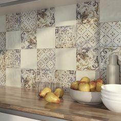 Serie IRINA - Leroy Merlin Spanish Tile, Decoration, Tiles, Sweet Home, Curtains, Bathroom, Decks, Ideas Para, Kitchens