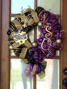 House divided Wreath, Lsu and Saints Fans