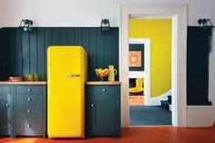 Voglio una #casa #giallo #limone - #Arredi e complementi di colore giallo #Indoors #Design
