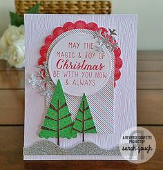 Countdown to Confetti - Seasonal Sentiments and North Pole Wishes Sarah Gough www.thinkingstamps.com