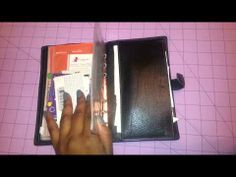 ▶ Compact Filofax Holborn as a wallet - YouTube