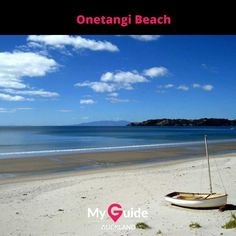 It is Waiheke Island's biggest beach. The beautiful golden sand beach has some of the cleanest waters in the Auckland region. (Picture courtesy - trover.com) Waiheke Island, Mission Bay, Stunning View, Beautiful, Memorial Museum, Sand Beach, Auckland, West Coast, New Zealand