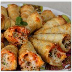 Blätterteig-Pizza-Kegel