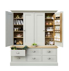 Oak lined larder cupboard from paul_lawrence.co.uk