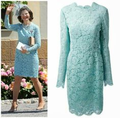 Queen Silvia in Valentino | MYROYALS &HOLLYWOOD FASHİON