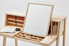 Secreter / Tocador de madera SIXtematic BELLE - 2:1 by sixay furniture diseño László Szikszai