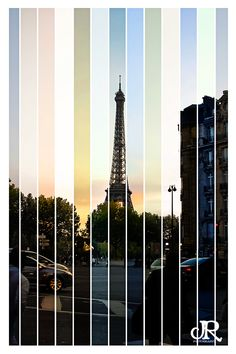 Ohhh Paris... you look good in every light.