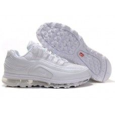 size 40 bb849 71acc Hommes Nike Air Max 24-7 All Blanc Nike Air Max White, Cheap Nike