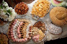 Italian wedding cookie table #italianwedding #weddingtradition