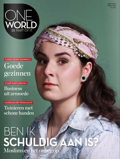 OneWorld magazine nr 3, 2015- Photography Jouk Oosterhof- Picture editor Anja Koelstra #OneWorld #EsraDede My Portfolio, Picture Editor, Band, Magazine, Photography, Ribbon, Bands, Warehouse, Photograph