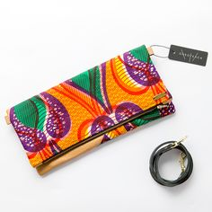 ONEOFEACH African print clutch accessory