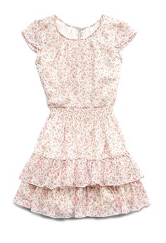 Flower Party Dress | FOREVER21 #Floral #Juniors #Ruffles