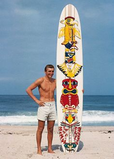 Doyle's famous tiki board by leroy grannis