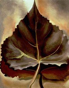 GEORGIA O'KEEFFE Leaves (1929)