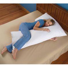 The Always Cool Body Contouring Pillow - Hammacher Schlemmer