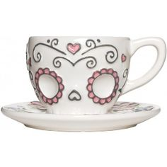 SUGAR SKULL TEA CUP coffee cup