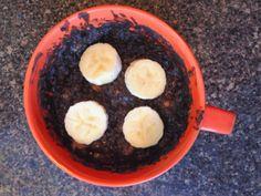 Fudgy Chocolate Banana Oatmeal